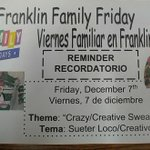Image for the Tweet beginning: Family Friday tomorrow! Don't forget