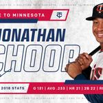 Image for the Tweet beginning: #MNTwins sign second baseman Jonathan