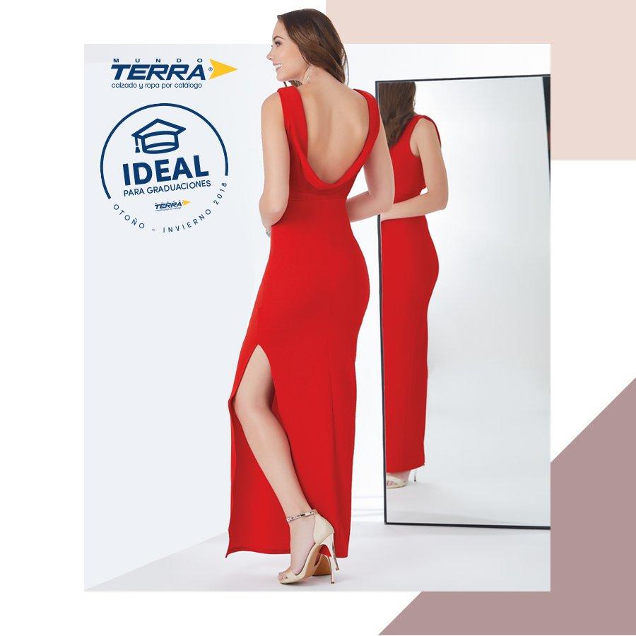 Mundo Terra On Twitter Un Vestido Rojo Con Escote En La
