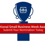 Image for the Tweet beginning: 🚨National Small Business Week Award