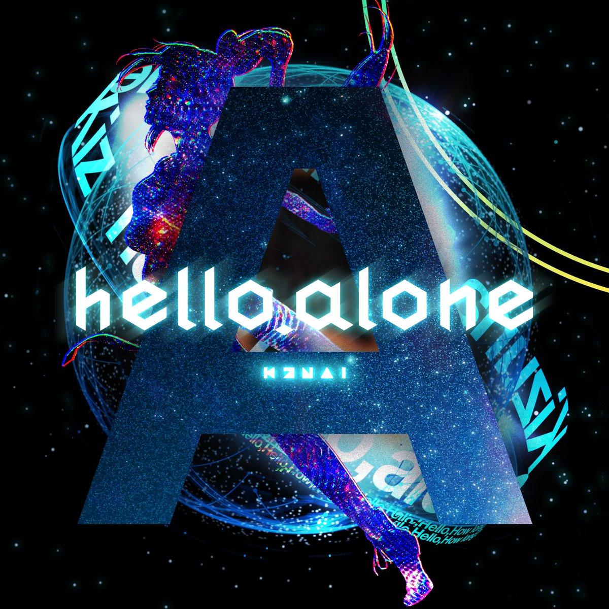 "Kizuna AI 1st Live ""hello, world""東京公演即日完売!限定アーティストコラボアイテム発表!第7弾「hello, alone ..."