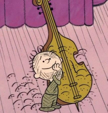 Pigpen could afford a upright bass but couldn't get a shower? Something's fishy