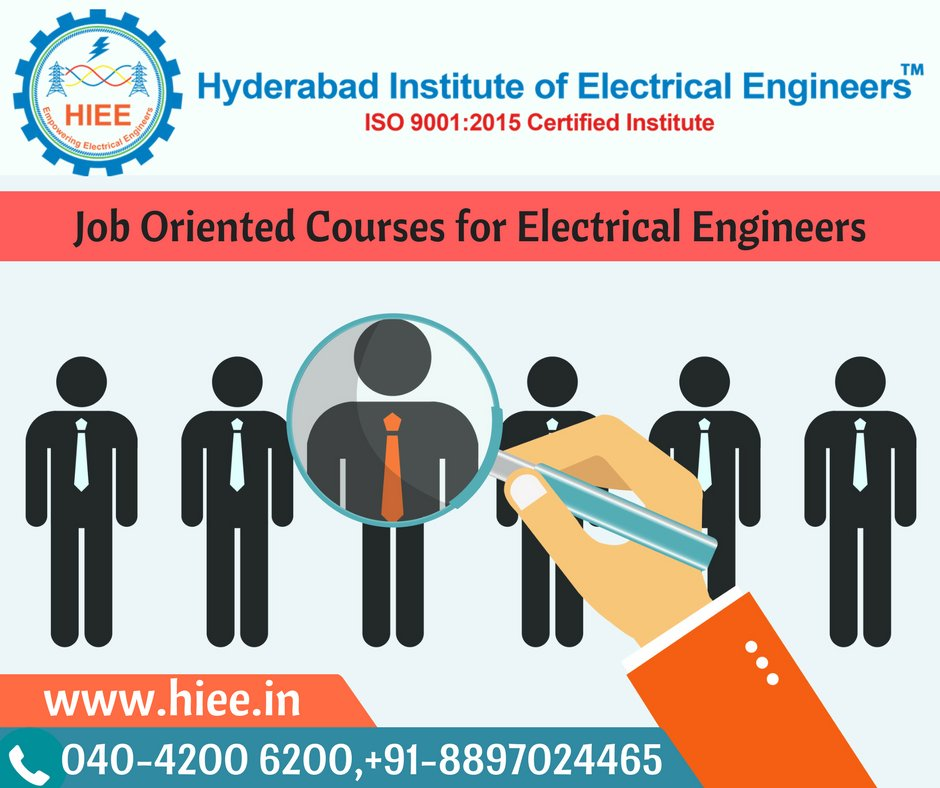 Hyderabad Institute Of Electrical Engineers On Twitter Best Electrical Design Courses In Hyderabad With 100 Job Guarantee Hiee Is An Electrical Design Engineering Training Institute In Hyderabad Hyderabad S No 1 Institute For