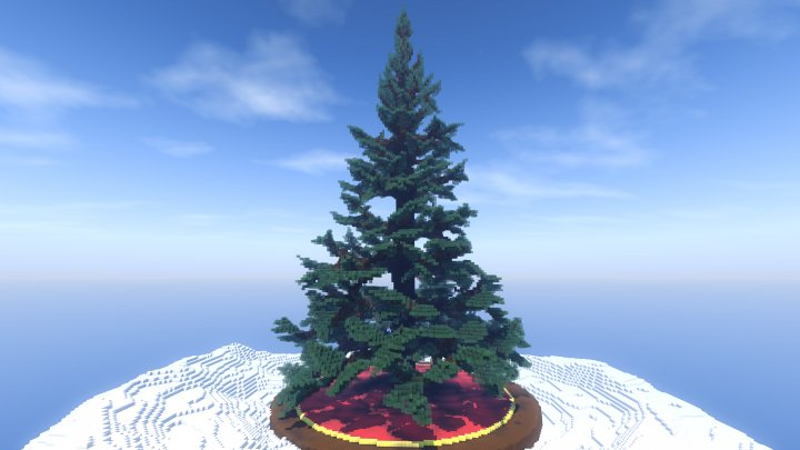 Christmas Minecraft Decorations.Decorating A Tree Is A Fun Christmas Tradition And Now