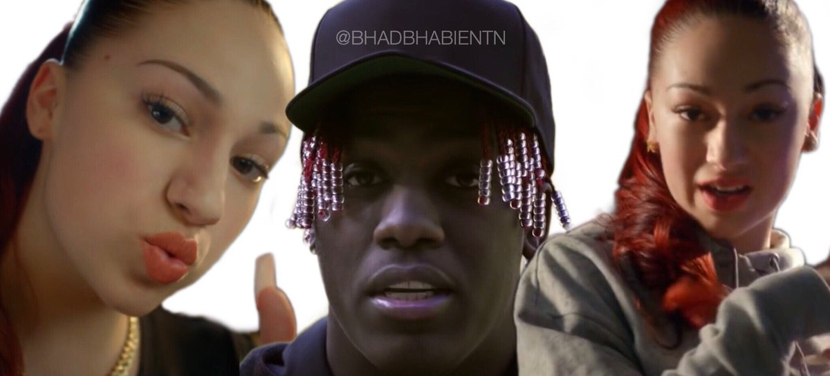 """8a60841b9346 Bhad Bhabie s """"Gucci Flip Flops"""" with Lil Yachty has hit 100 MILLION views  on"""