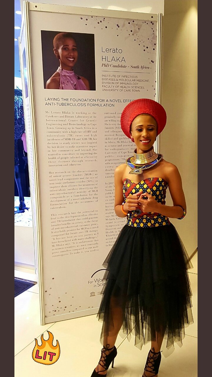 Immunology Uct On Twitter Congratulations To Leera Hlaka For Being One Of The 14 Loreal Unesco Phd Fellows In The Sub Saharan Africa 4womeninscience Programme The World Needs Science Science Needs Women Fwis Https T Co Uyhjz2lhx2