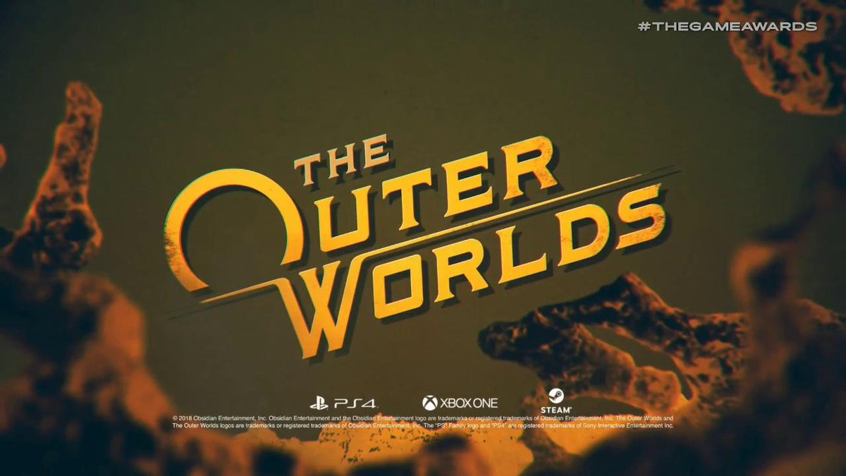 Obsidians new game, The Outer Worlds, revealed! #TheGameAwards