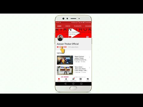 NEPALI To Make Subscribe and bell icon intro on smartphone step by step...