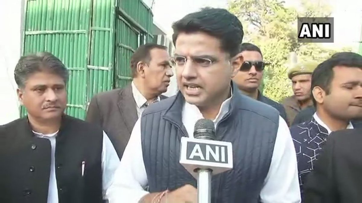Sachin Pilot, Congress on CM face from Congress: We will sit and discuss this after our party gets a majority in the election. #RajasthanElections2018