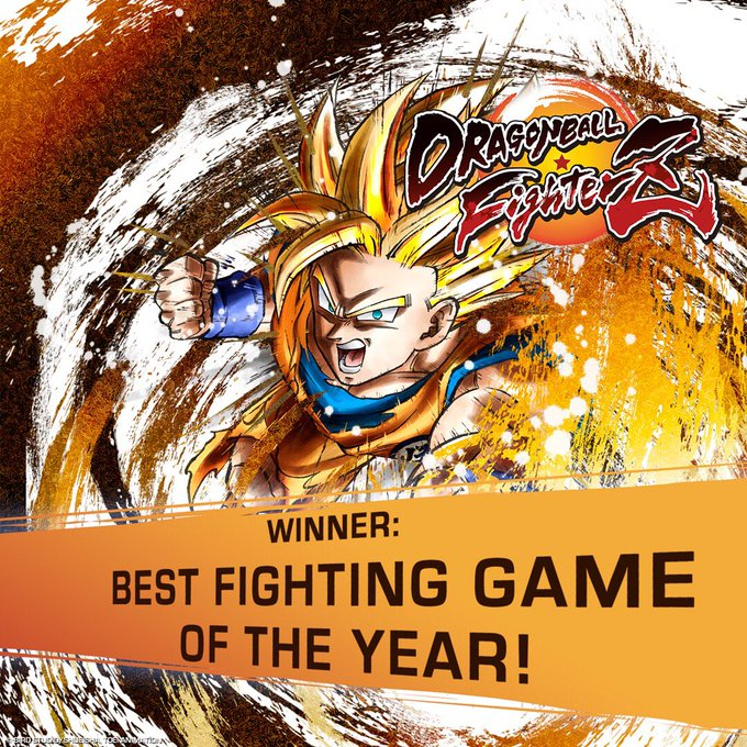 On behalf of everyone at Bandai Namco we want to thank all the FighterZ for making #DRAGONBALLFighterZ the BEST FIGHTING GAME of 2018! SUBARASHII! Elevate your power to new heights! Order your copy of DRAGON BALL FighterZ today: Фото