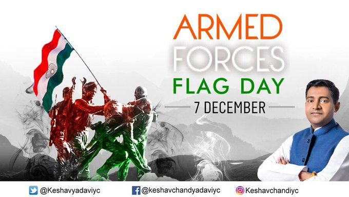 Our flag doesn't fly because the wind moves it,it flies with the last breath of each soldier who died, I salute to all the soldiers of our nation who dedicate themselves to protect our motherland. #ArmedForcesFlagDay Photo