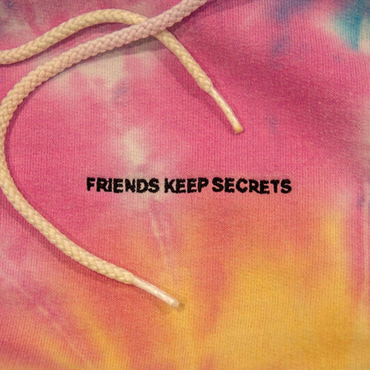 my fucking album is out now!!!! #FRIENDSKEEPSECRETS smarturl.it/FRIENDSKEEPSEC…