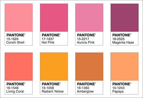RT @colisscom: 2019年の流行色・トレンドカラーは、かわいい珊瑚色の「Living Coral」 トレンドカラーを使った色の組み合わせもチェック!  https://t.co/qchNakf2NL https://t.co/nKkn3K4zT6