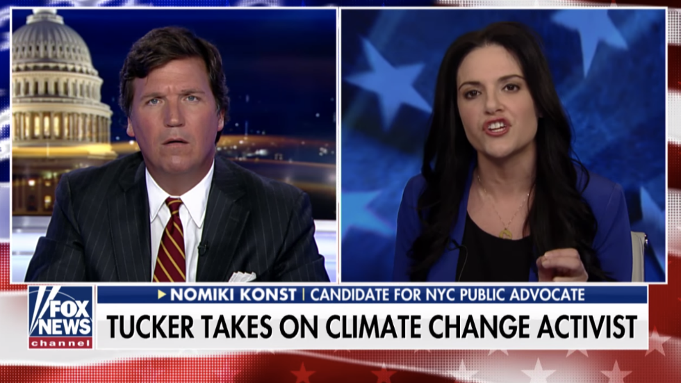WATCH: Progressive candidate goes after Tucker Carlson on his show: 'You don't like opinionated women, do you?' https://t.co/P8bi2YnOnu