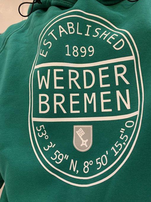 Spieltach, Werder-Hoodie! Forza SVW💚💪 #SVWF95 #Werder Foto