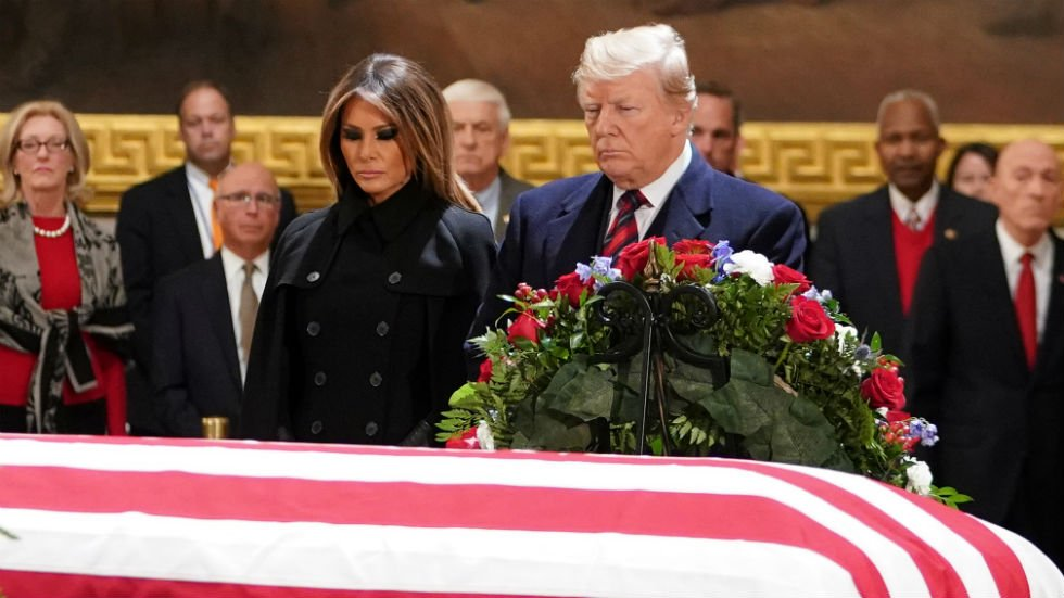 'Why was Trump uncomfortable at H.W.'s funeral?' (via @TheHillOpinion) https://t.co/0b8Jwyk5mi