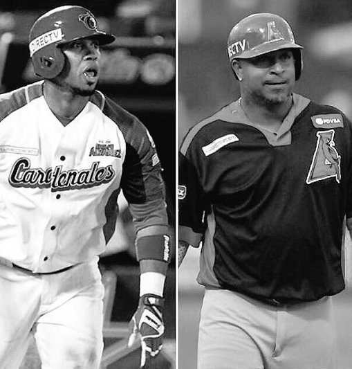 Luis Valbuena y José Castillo Photo
