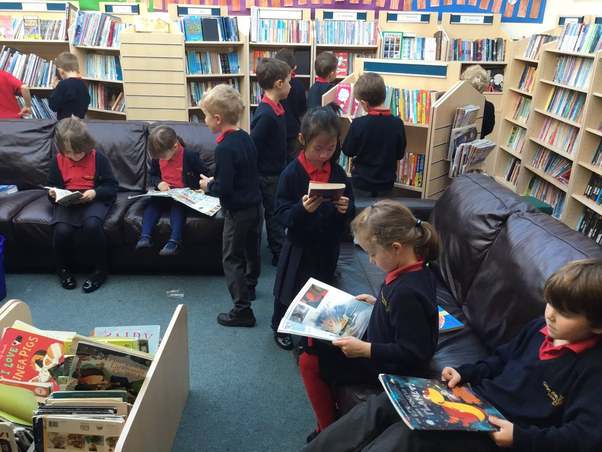 test Twitter Media - Year 2 enjoying some time in the library after our dress rehearsal this morning! https://t.co/BHAgYWj8uG