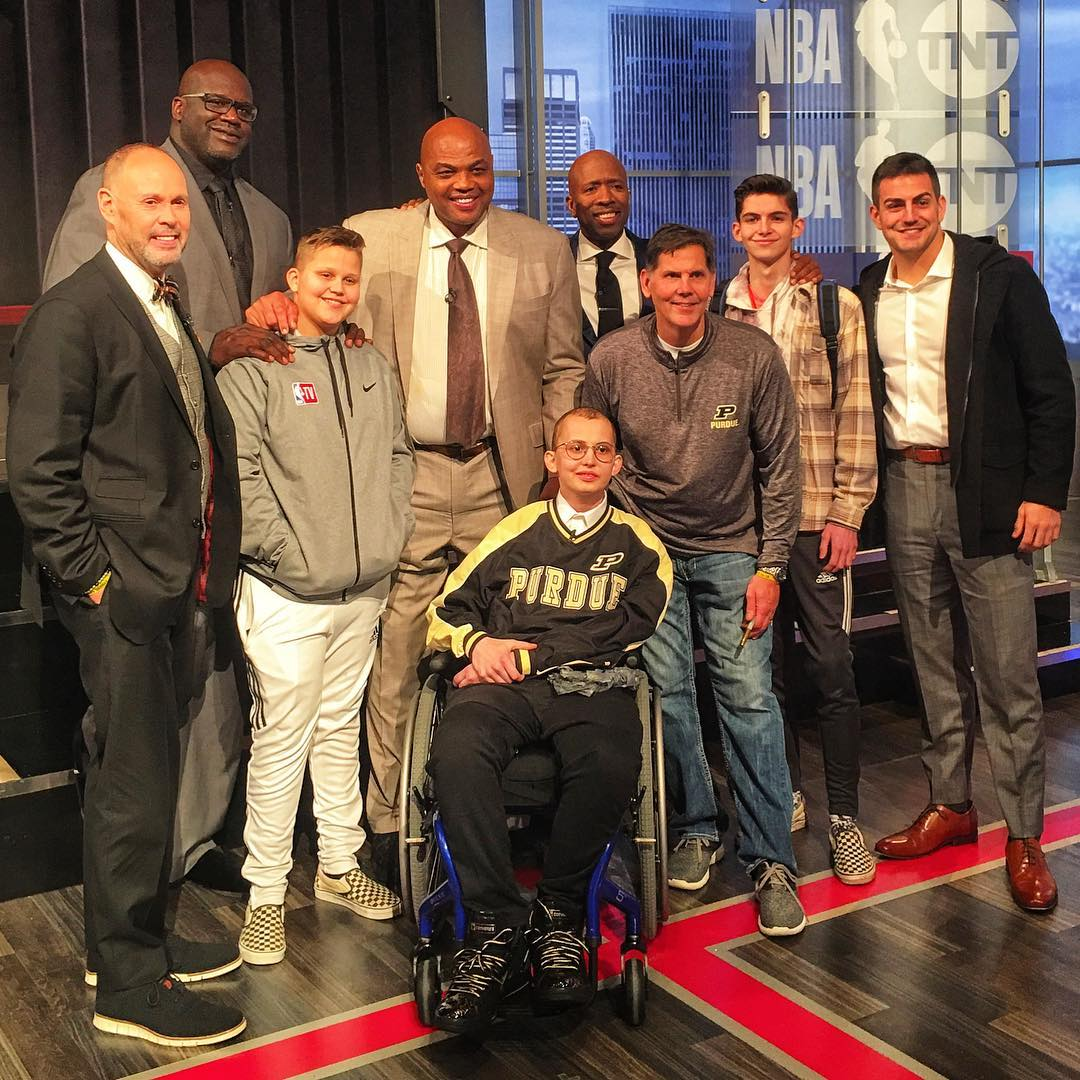 Inside the NBA is #TylerStrong 💪 @theTylerTrent