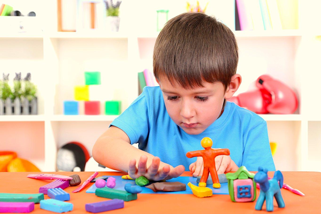 Лепка картинки для детей