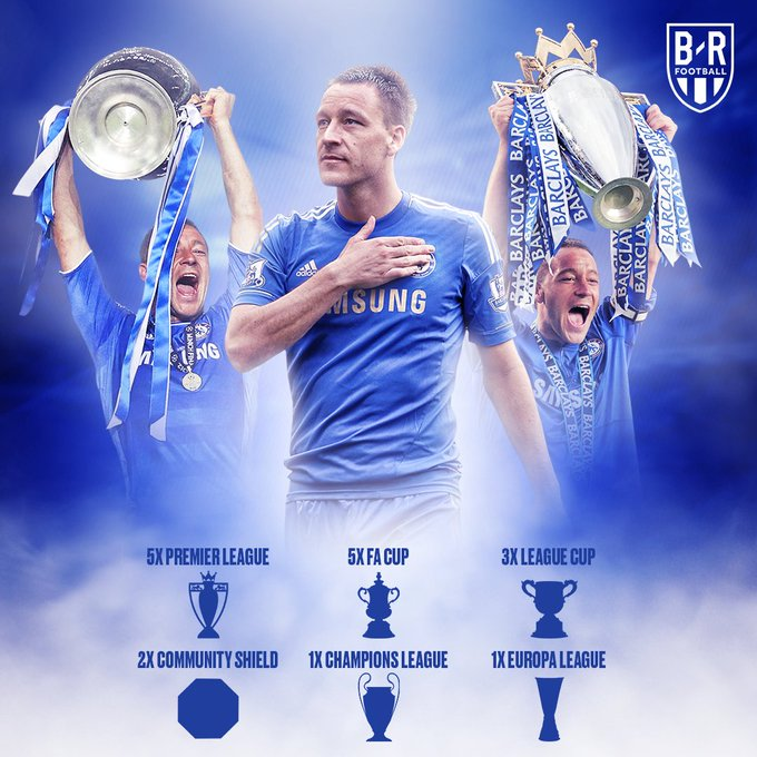 Happy birthday John Terry—Chelsea's most successful captain of all time 🙌🏆🔵 Photo