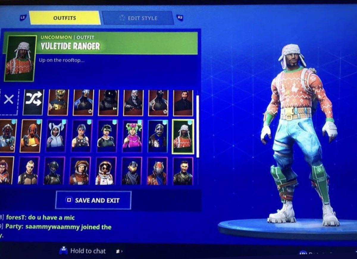 Another Fortnite Account For Sale Ps4 Account Has Rare Christmas