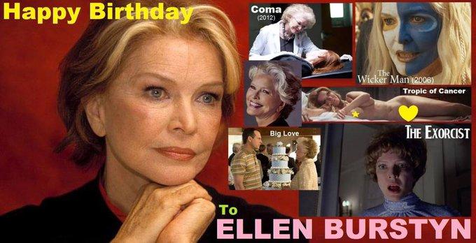 Happy birthday to Ellen Burstyn, born December 7,1932.