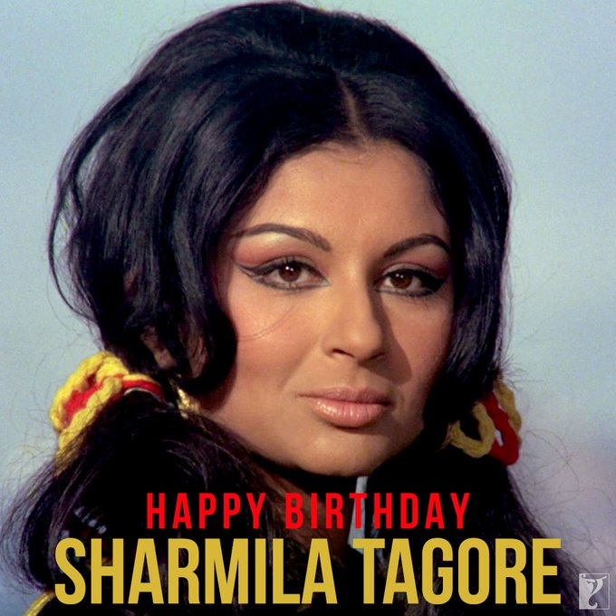 Wishing the graceful #SharmilaTagore a very Happy Birthday! Watch her classic movie #Daag: | Photo