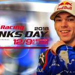 \「Honda Racing THANKS DAY 2018」まで2日!/ 来季からRed Bull Racingへ移籍のピエール・ガスリー @PierreGASLY 選手。カートレースやSUPER GTエキシビジョンレースなどに参加予定♪ F1とは違うマシンでのレース姿をお楽しみに^^ #ホンダモースポ #F1jp #USLETE #HRTD2018 https://t.co/0MZxwJg9sT