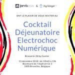 Image for the Tweet beginning: [#ElectrochocNumerique] c'est ce 13 décembre,