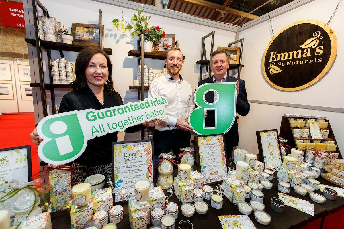 LISTEN: Members of the Guaranteed Irish Village at #Gifted2018 are interviewed for @morningireland  on @RTERadio1 --> http://bit.ly/2zN7qzj  #BuyGI #AllTogetherBetter