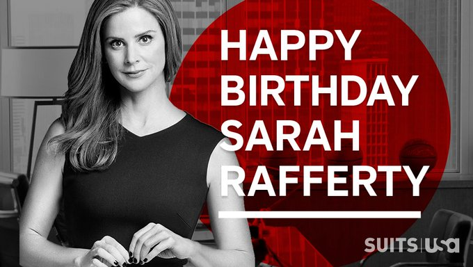 Today is Sarah Rafferty birthday who played Harvey\s secretary in suits! Happy birthday