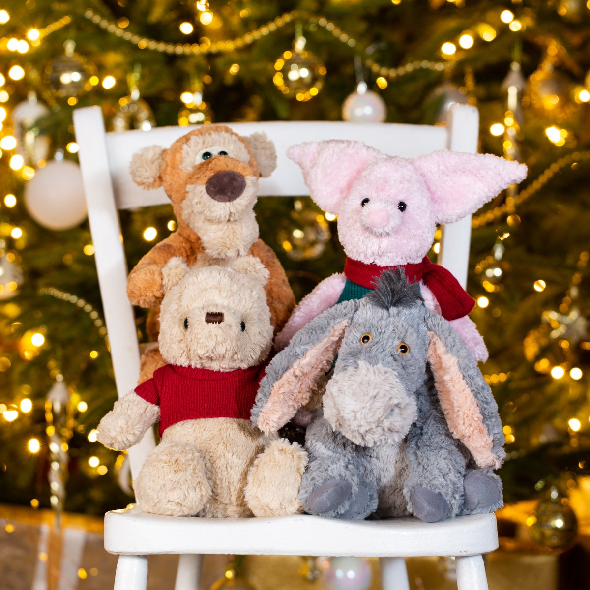 It's beginning to look a lot like Christmas! Our Christopher Robin Winnie the Pooh plush will be BACK IN STOCK very soon! Keep your eyes on @amazon to order in time for the big day. P.S did you know the #ChristopherRobin DVD release is next week too? How exciting! #disneylove<br>http://pic.twitter.com/lK5pE1Mt4z