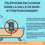 Image for the Tweet beginning: Utilisation d'un téléphone en cours