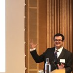 Image for the Tweet beginning: @DavidHenigUK at Post-Brexit seminar @svenaringsliv: