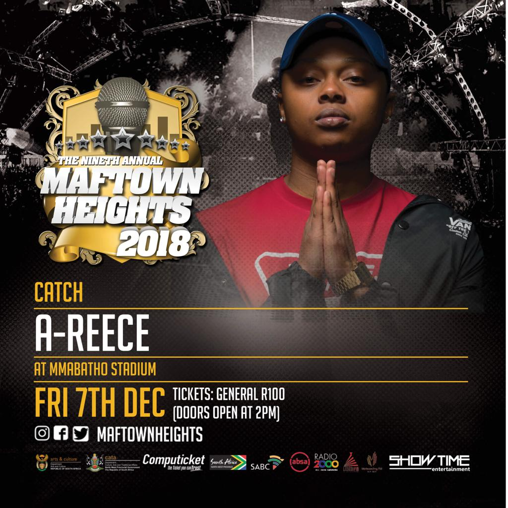 My personal favourite rapper @reece_youngking #Maftownheights2018 https://t.co/f0uQWf1Yjt