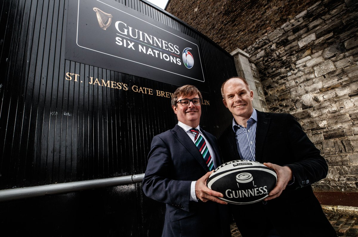 We are delighted to announce Guinness as our title sponsor on a six year deal.   https://t.co/8XPqyICh1K https://t.co/56MPvJkhuP