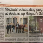Image for the Tweet beginning: .@AHSYork coverage in @yorkpress today
