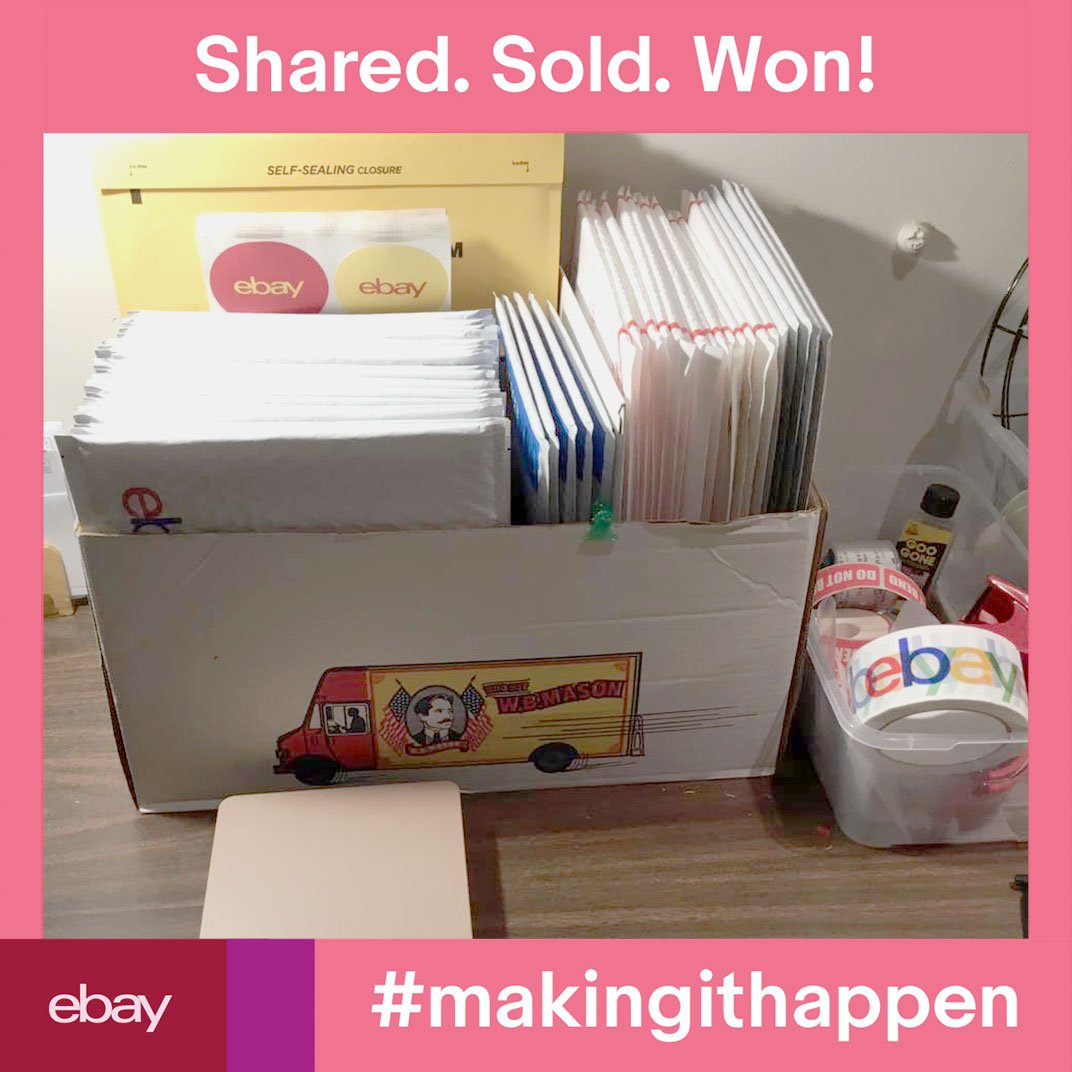 Ebay For Business On Twitter Congratulations To Lynda D The Week 3 Winner Of The Makingithappen Sweepstakes She Just Won A 500 Ebay Gift Card The Sweepstakes Ends Tonight Just A Few More