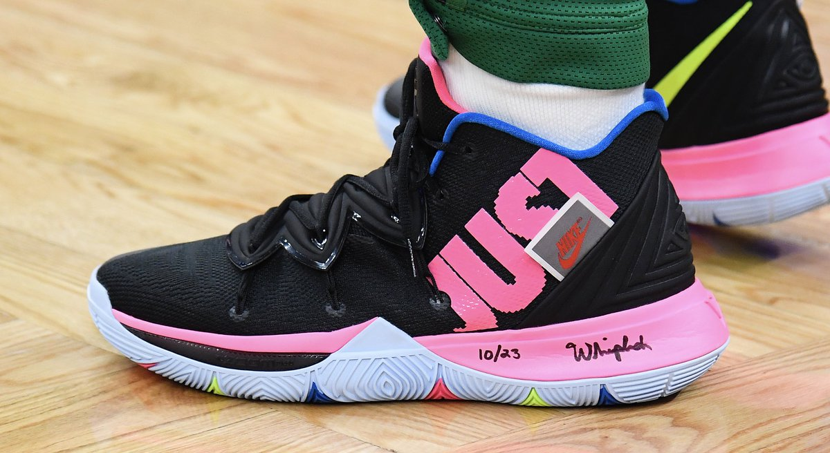 """977a2f848d7 Nike Kyrie   SoleWatch   kyrieirving debuts """"Just Do It"""" Nike Kyrie 5s"""