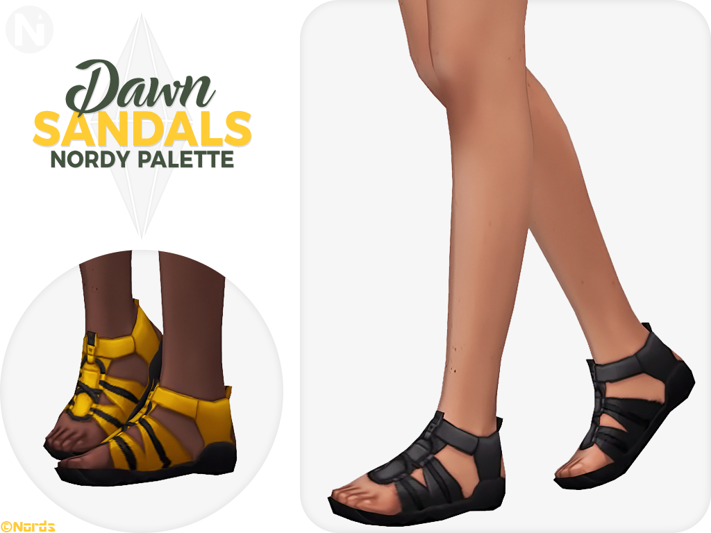 cd87343a96ae4 Here s my latest creation for The Sims 4. Download HERE  https   nordsart.blogspot.com 2018 12 dawn-rugged-sandals-sims-4-cc-shoes.html  …  Ts4cc  s4cc  Sims4 ...