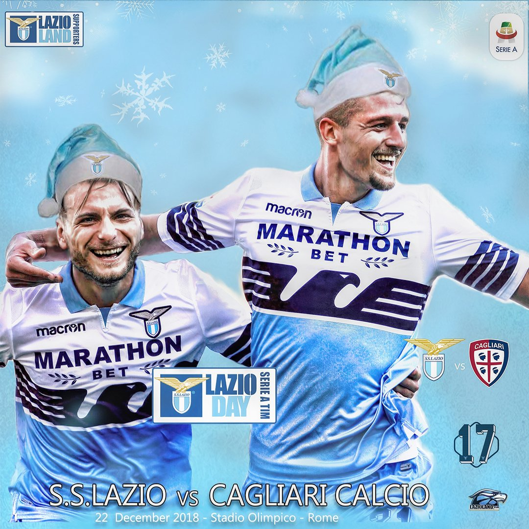 Our #MatchDay Preview is here! #LazioCagliari #LazioDay #StartingXI #serieATIM #LazioLand #LazioXmas