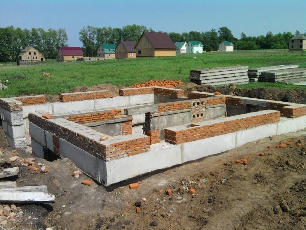 фундаменты из блоков