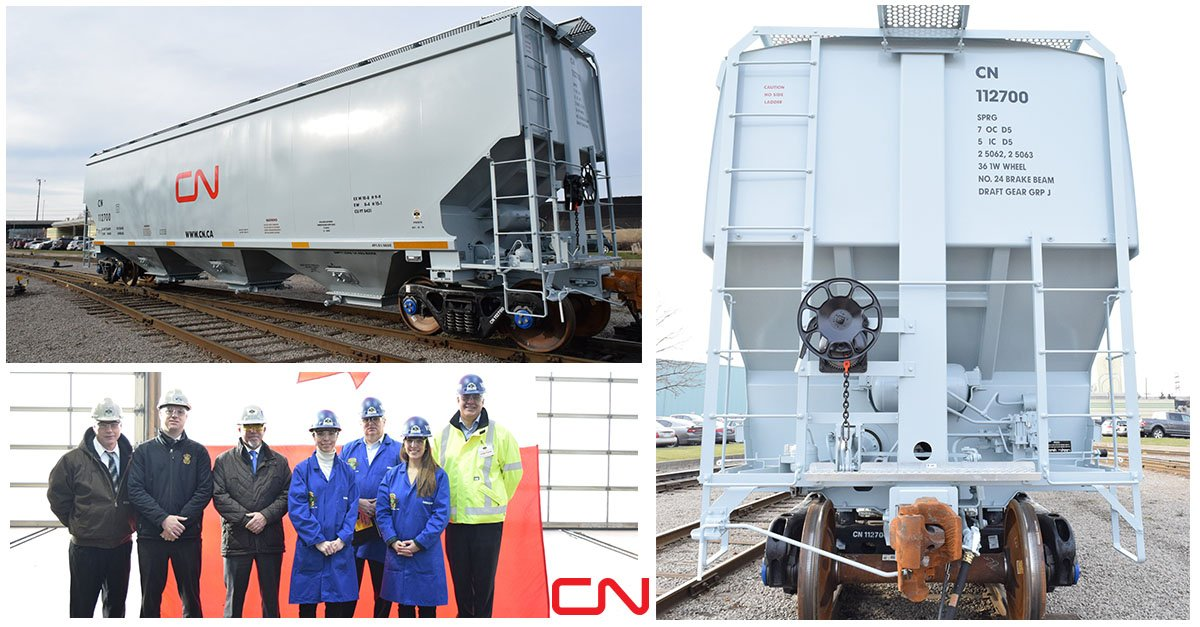 Canadian National On Twitter Cn Was Proud To Receive Delivery Of