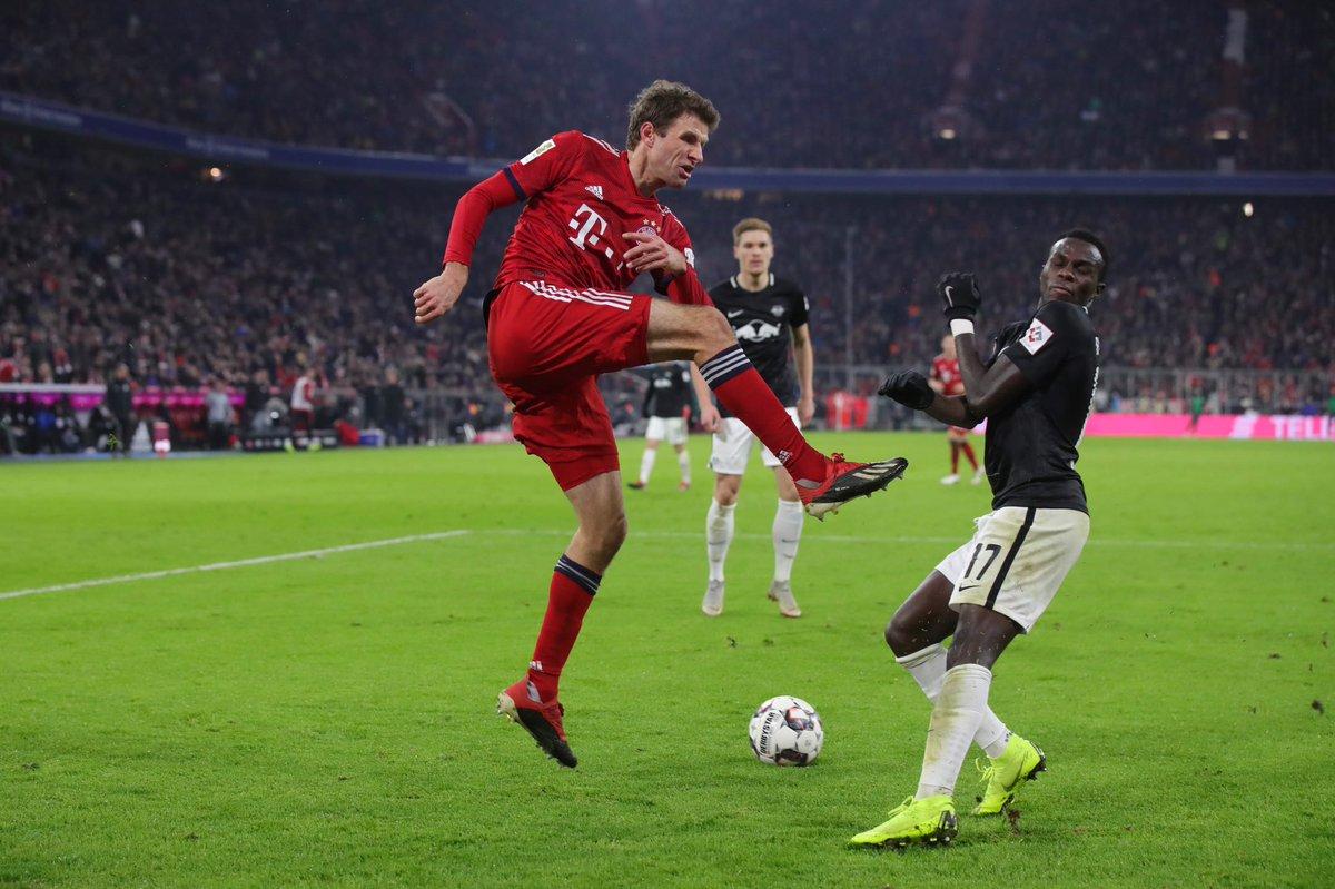 1:0 😀👍🏼 #fcbrbl #fcbayern #mercifranck #bundesliga #esmuellert #fcb #MiaSanMia