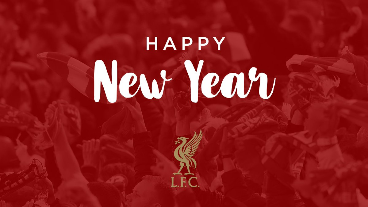 Happy New Year from everyone at #LFC and best wishes for 2019. 🙌🔴