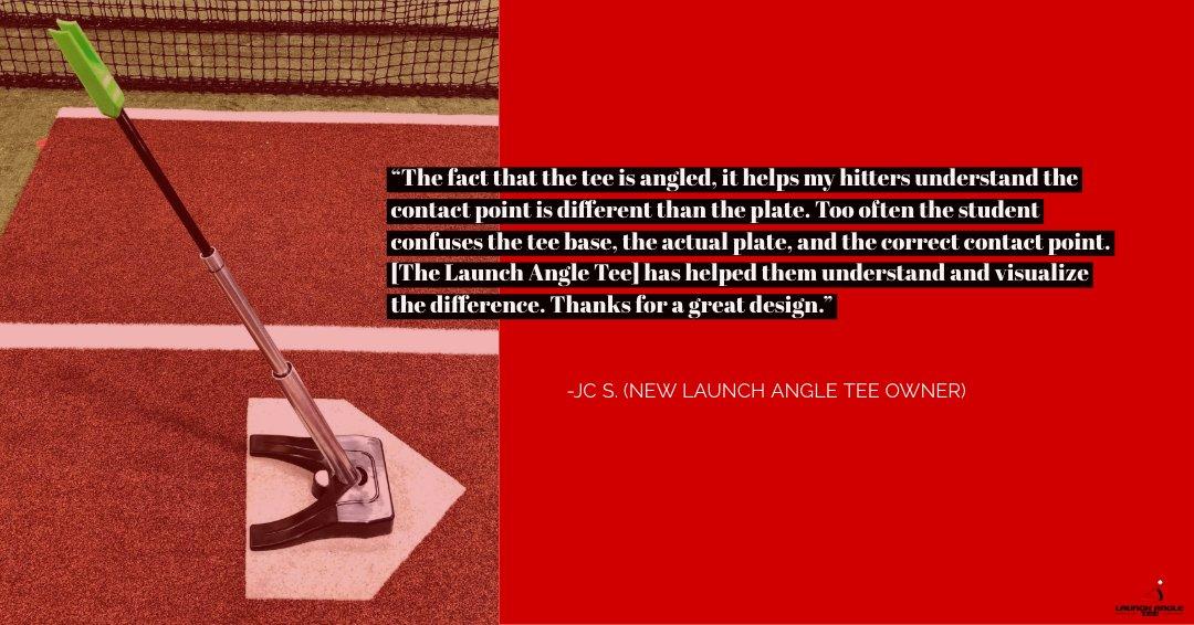 Lancement d/'angle Tee Top Baseball frapper Tee