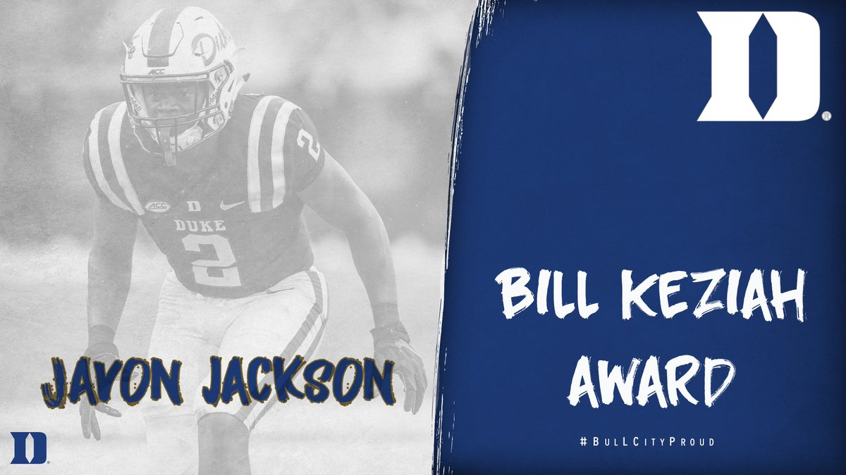 Special teams 👊 @VonnJack2 is our Bill Keziah Award recipient as our top special teams performer