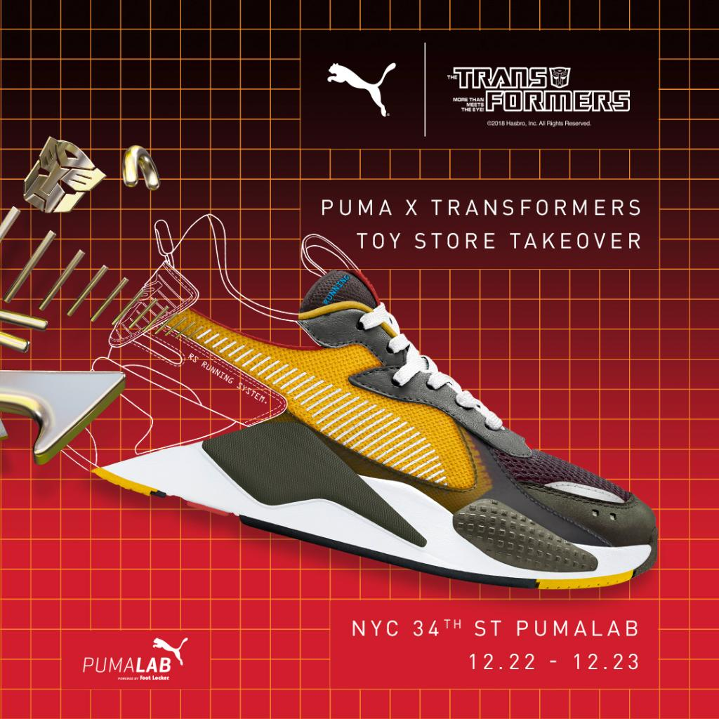 f465b2a16fa320 If you re in  NYC - be sure to check out the PUMA x Transformers Toy Shop  Takeover. RS-X KICKS