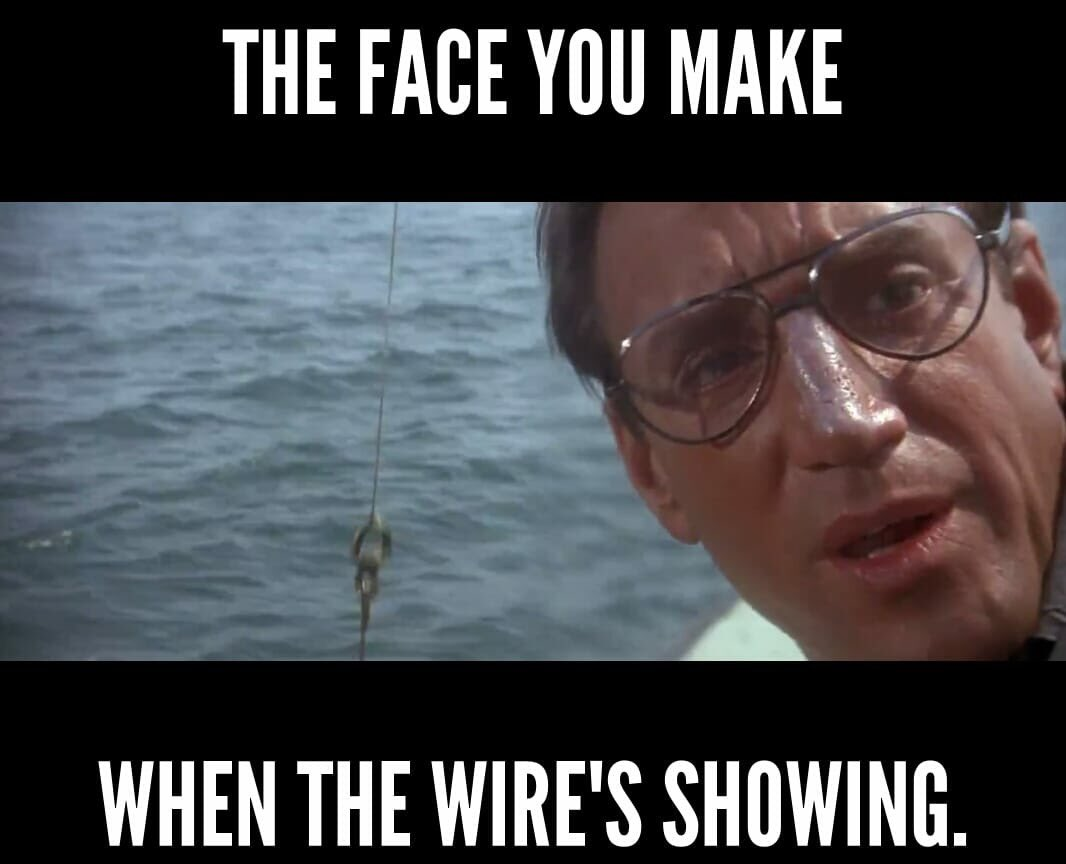 Lines from jaws